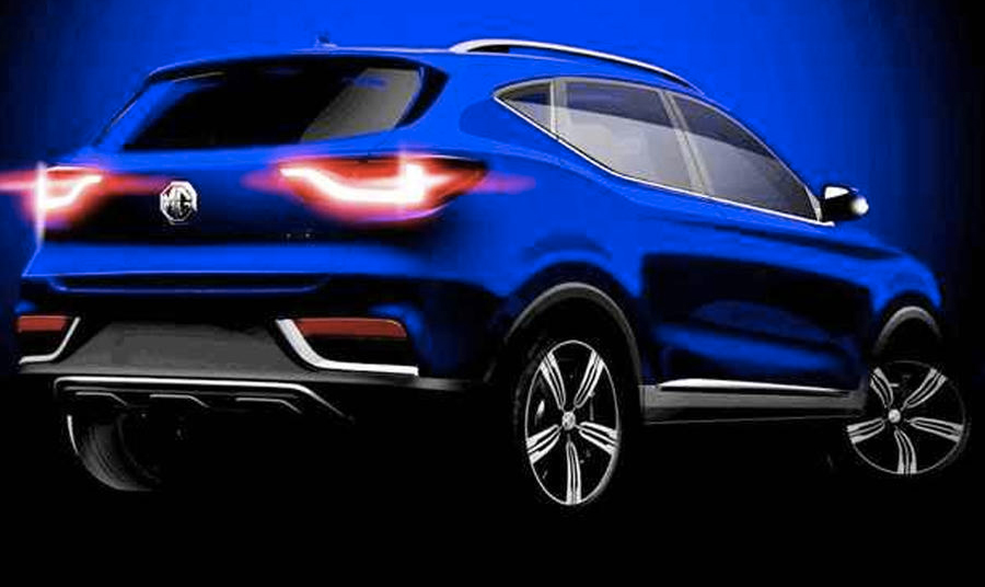MG ZS COMPACT SUV GETTING AN OUTING AT THE GUANGZHOU MOTOR
