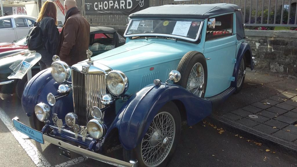 This splendid MG VA DHC by Tickford will be auctioned in Switzerland this week
